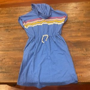 girls old navy dress with hood